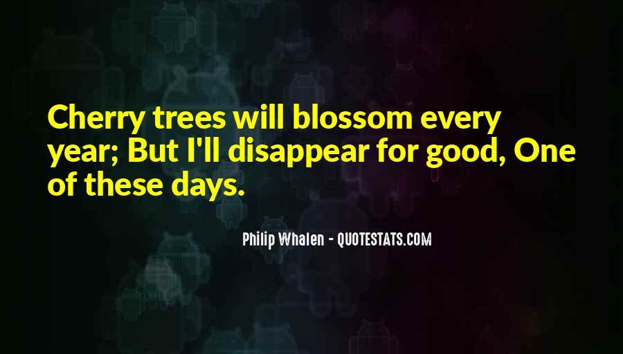 Cherry Tree Quotes #1809046