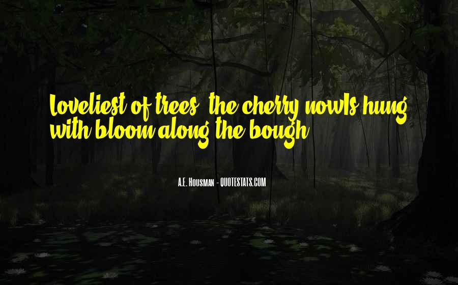 Cherry Tree Quotes #676618