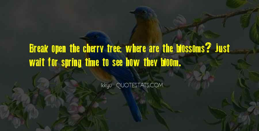 Cherry Tree Quotes #783182