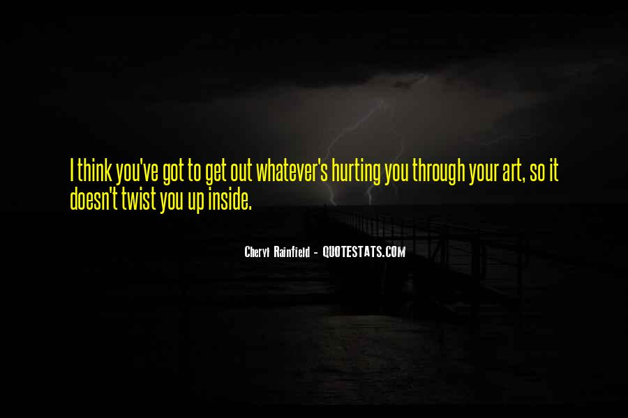 Cheryl Rainfield Scars Quotes #1510835