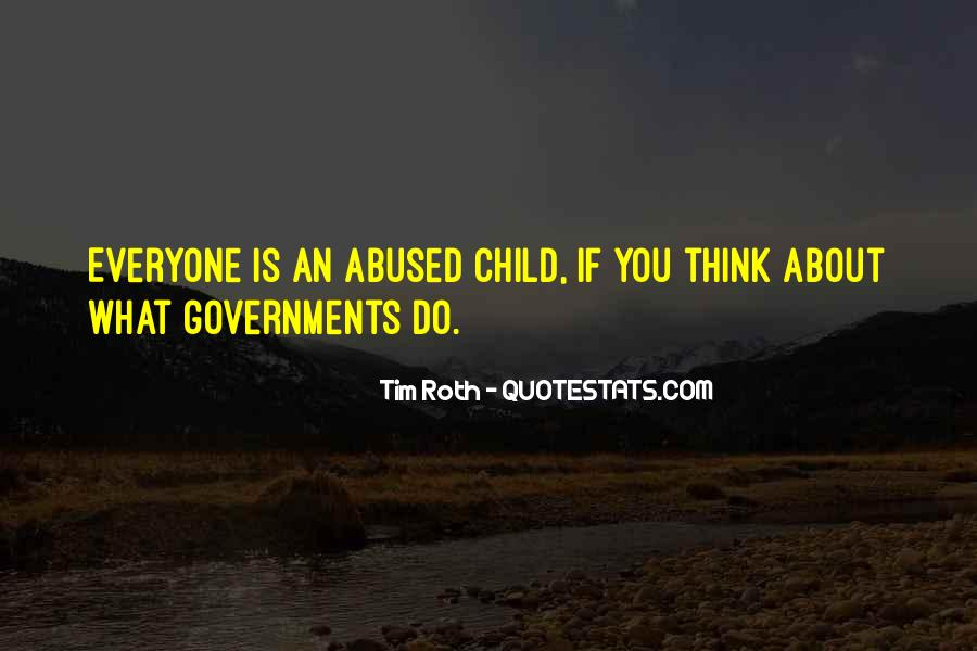Child Abused Quotes #1087422