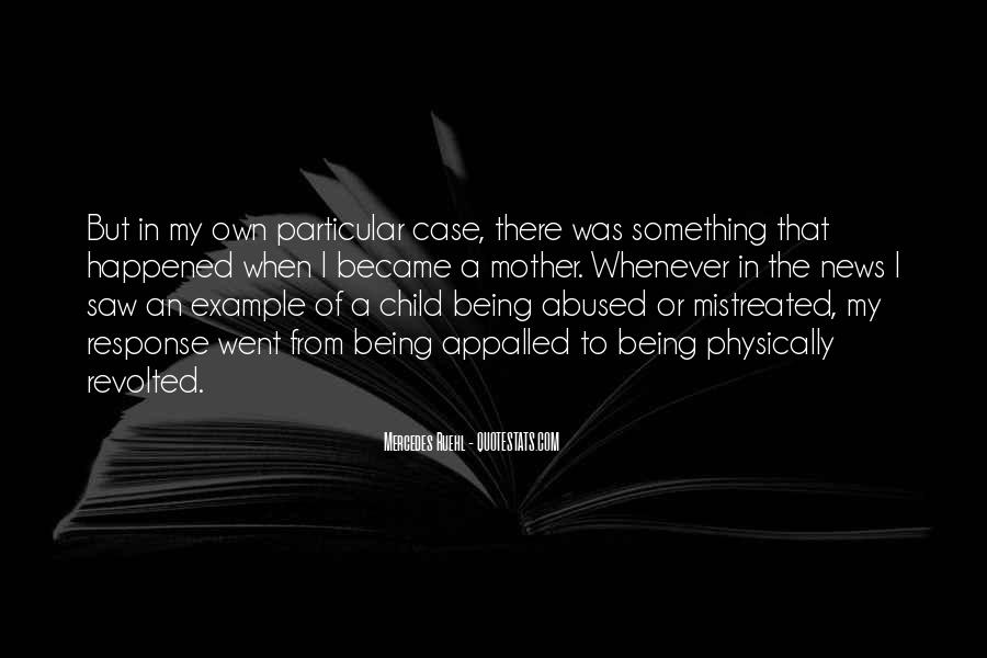 Child Abused Quotes #1233251