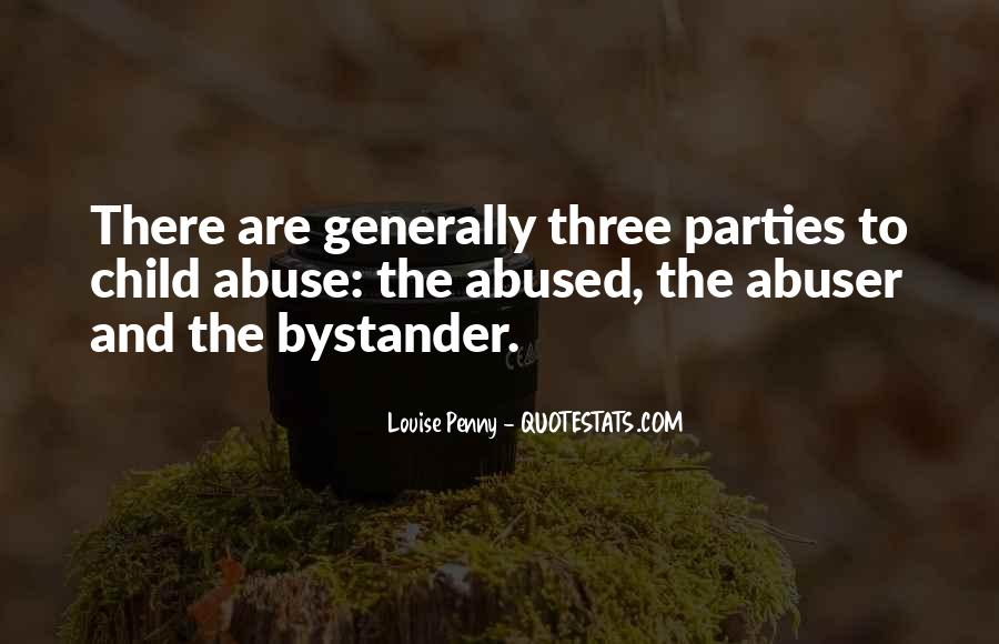 Child Abused Quotes #164037
