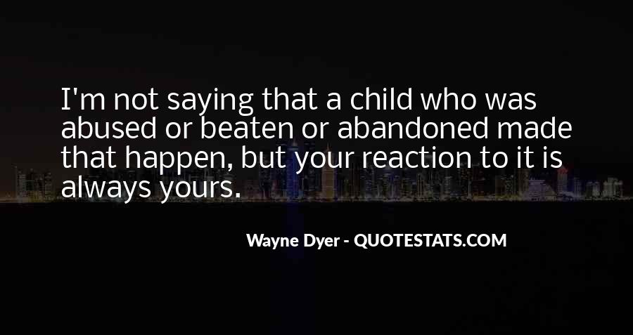 Child Abused Quotes #525615