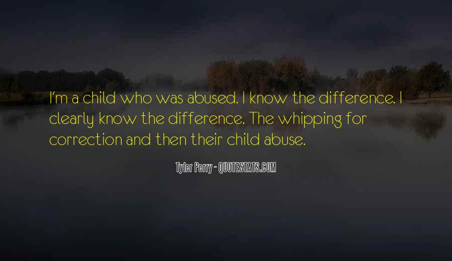 Child Abused Quotes #974538
