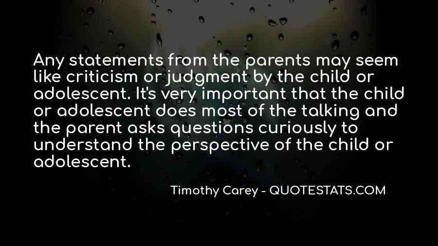 Child And Parent Quotes #114572