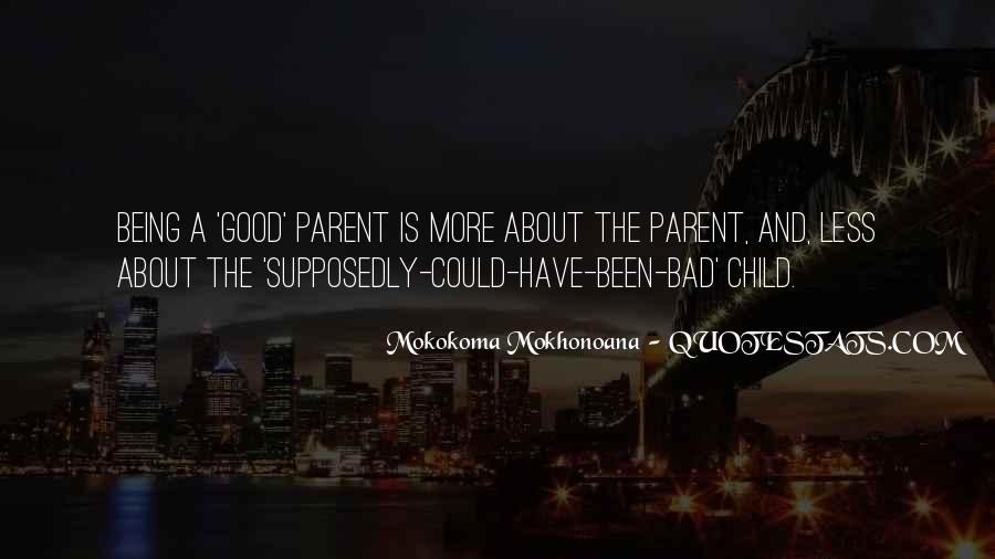 Child And Parent Quotes #119104