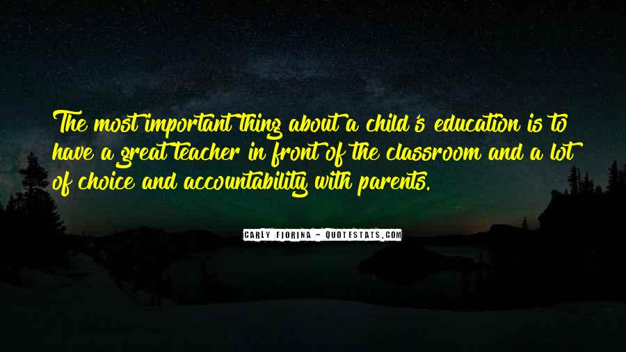 Child And Parent Quotes #162817