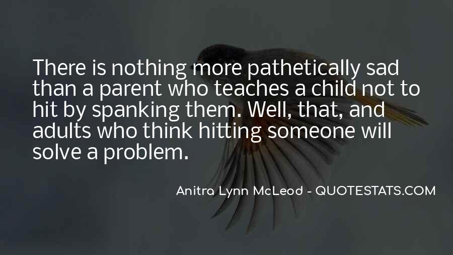 Child And Parent Quotes #170686