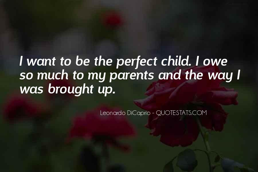 Child And Parent Quotes #183296