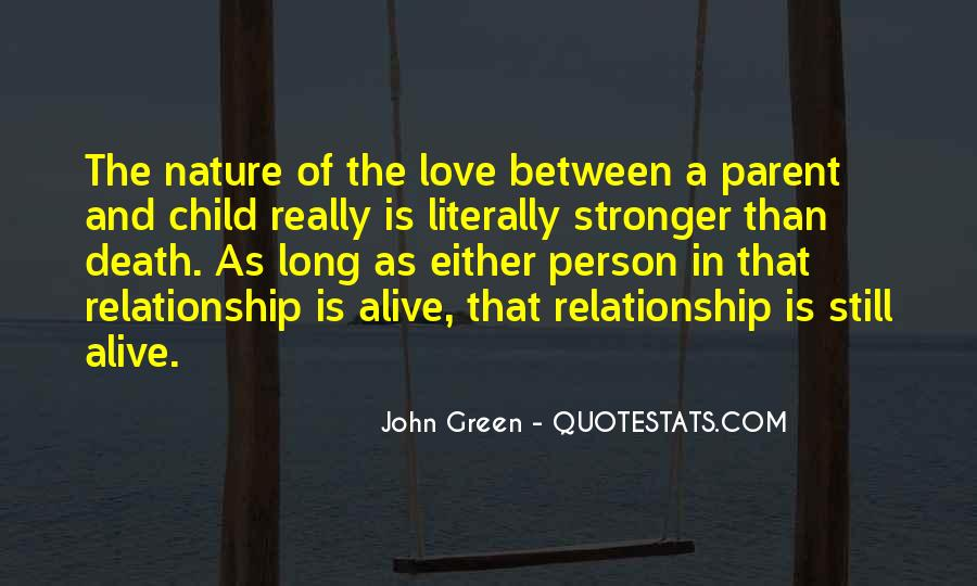 Child And Parent Quotes #195123