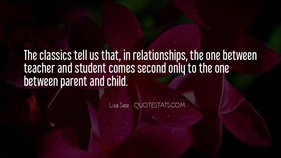 Child And Parent Quotes #199628