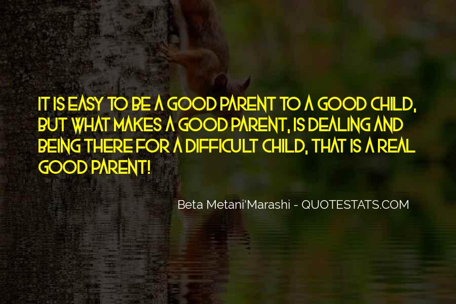 Child And Parent Quotes #441201