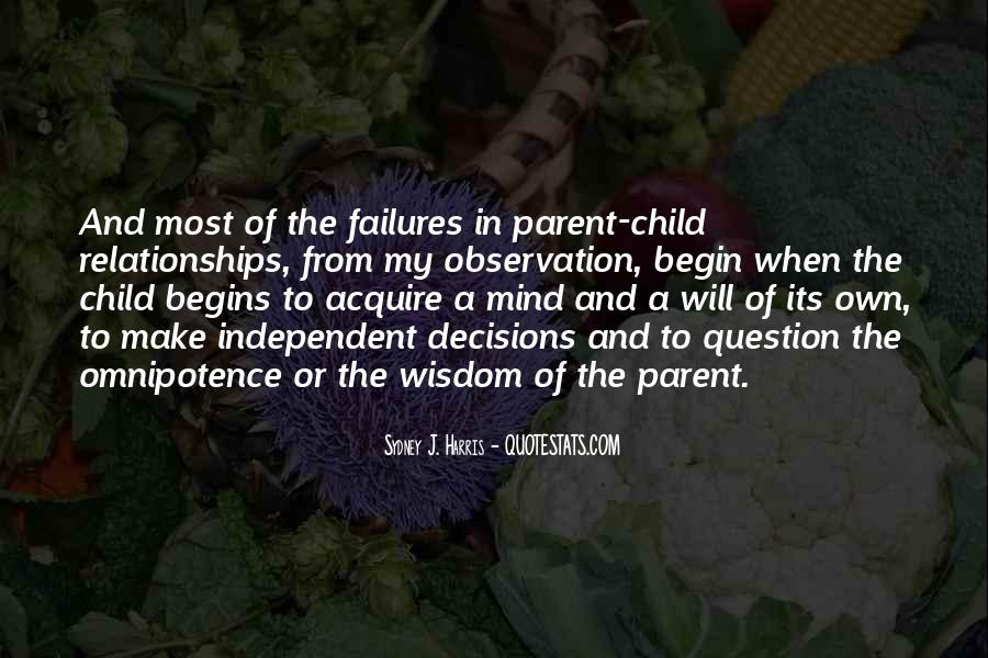 Child And Parent Quotes #45912