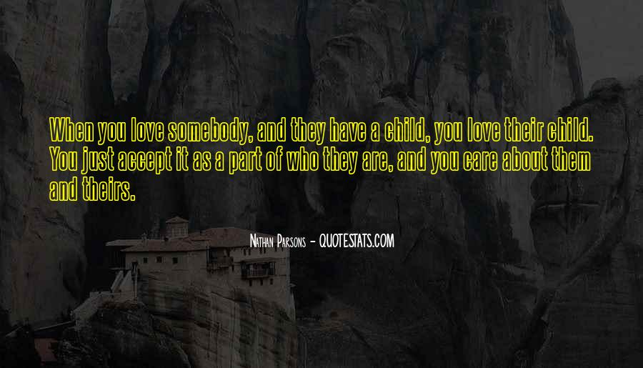Child Care Love Quotes #1397704