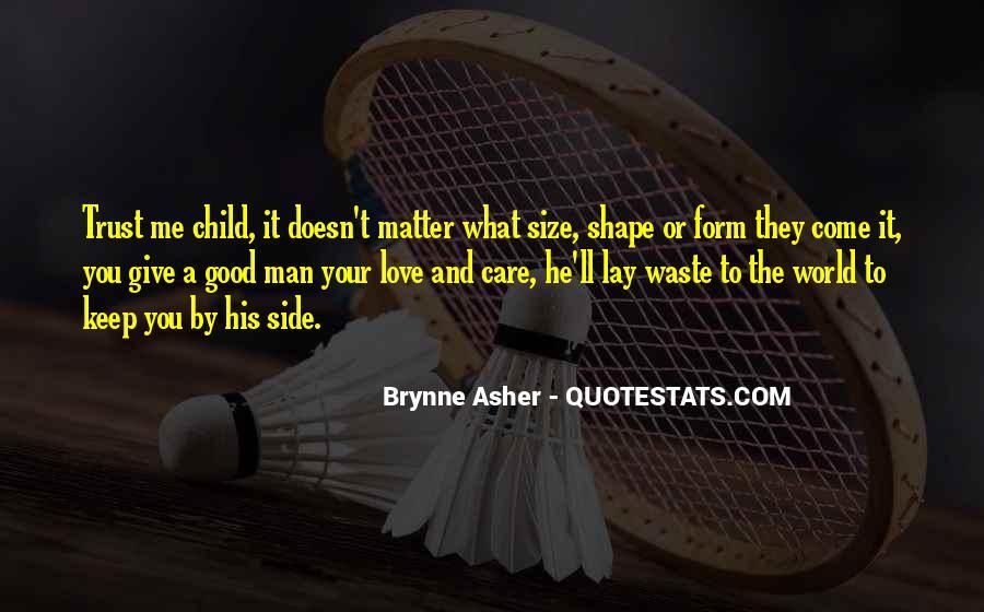 Child Care Love Quotes #1490522