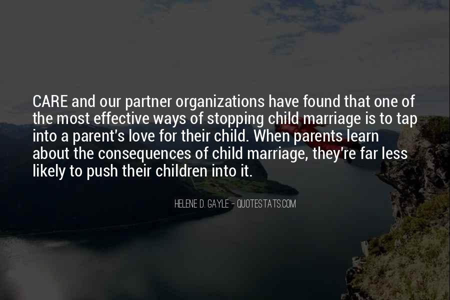 Child Care Love Quotes #1644043