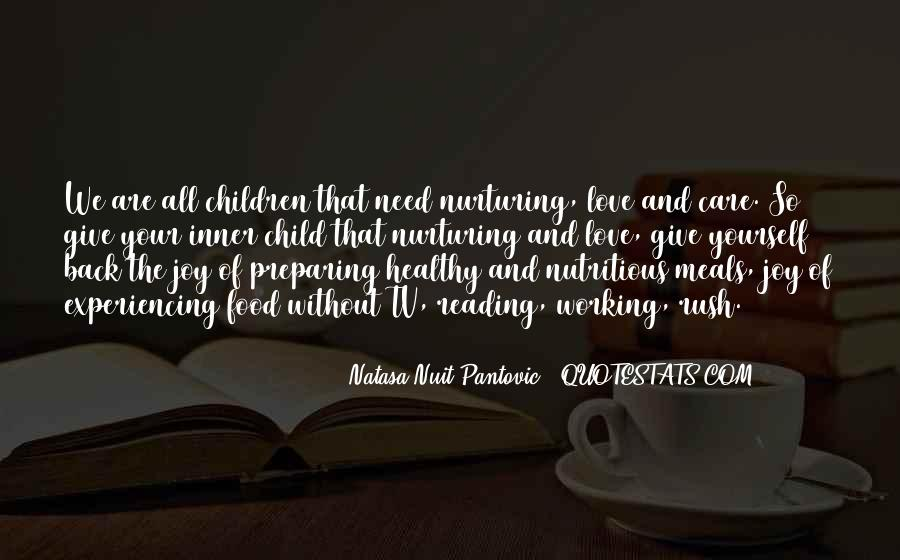 Child Care Love Quotes #1691733