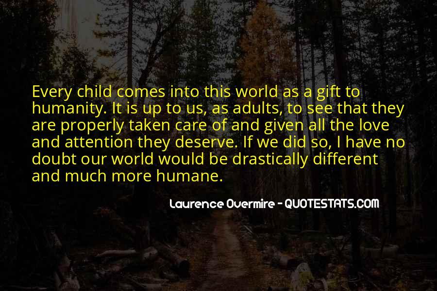 Child Care Love Quotes #210100