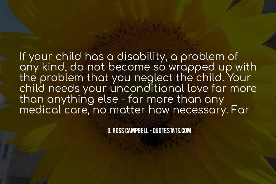 Child Care Love Quotes #61131