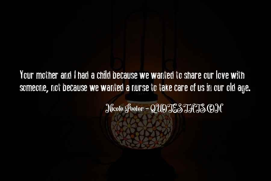 Child Care Love Quotes #912567