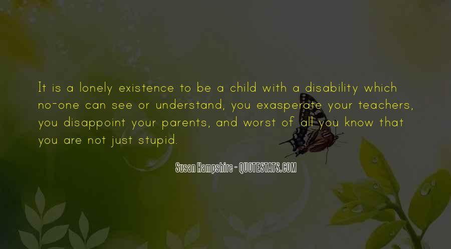 Child Disability Quotes #1464944