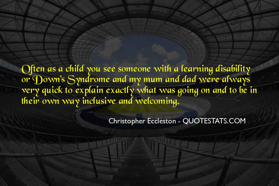 Child Disability Quotes #247464