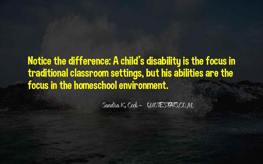 Child Disability Quotes #594372