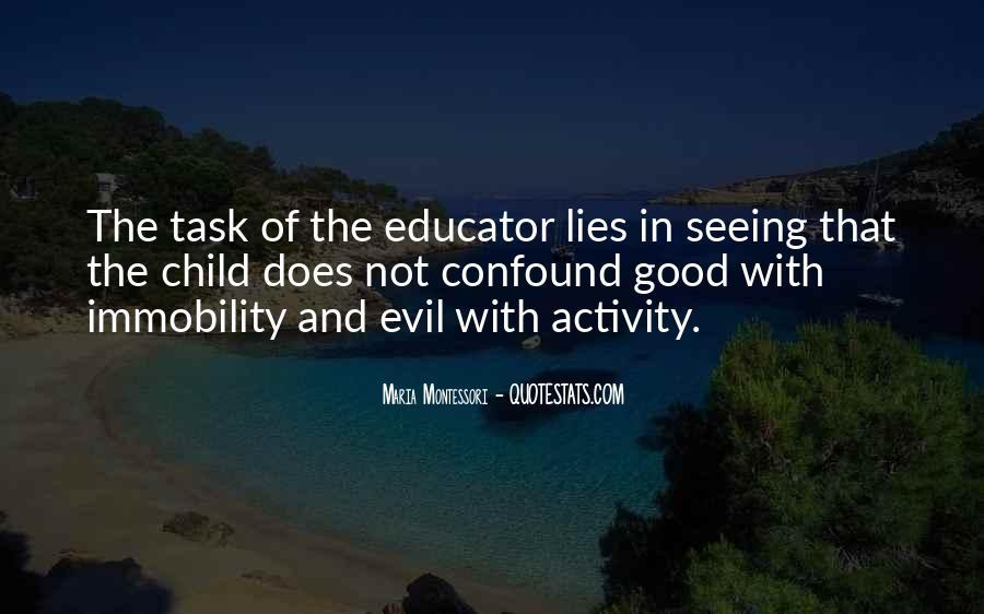 Child Educator Quotes #1112530