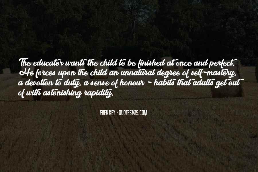 Child Educator Quotes #1148438