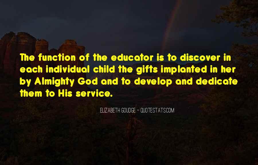 Child Educator Quotes #121827