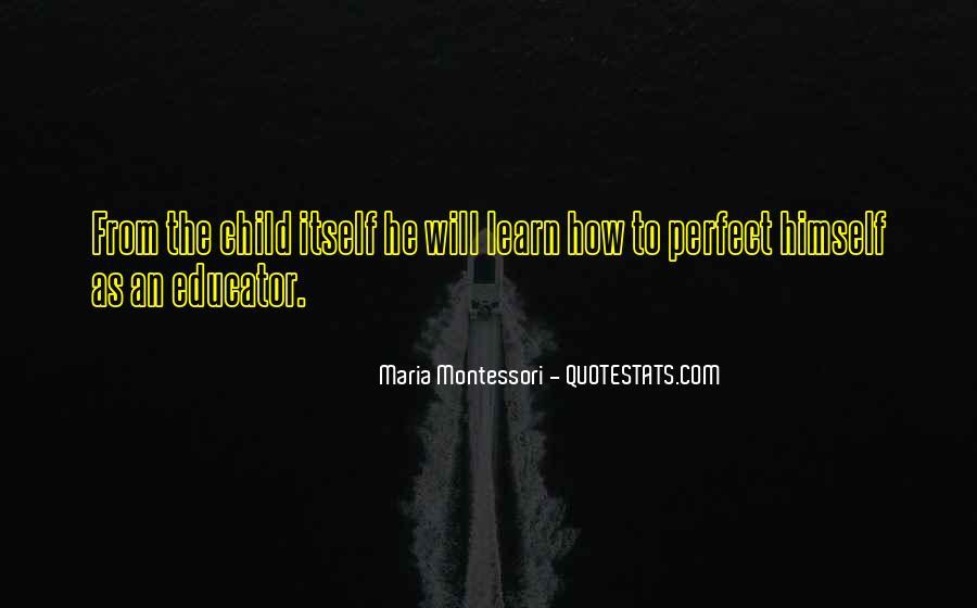 Child Educator Quotes #220595