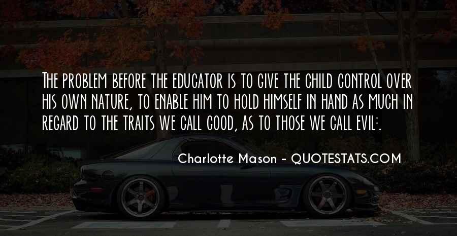 Child Educator Quotes #315592