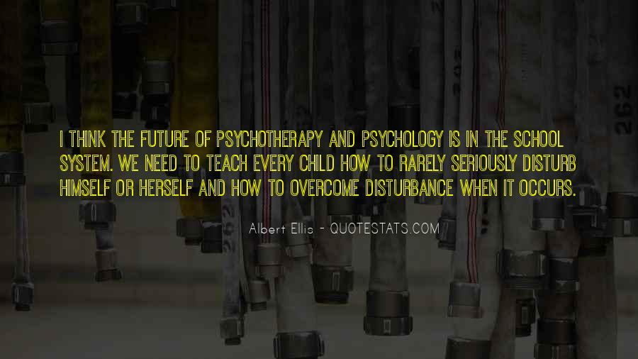 Child Psychotherapy Quotes #1128088