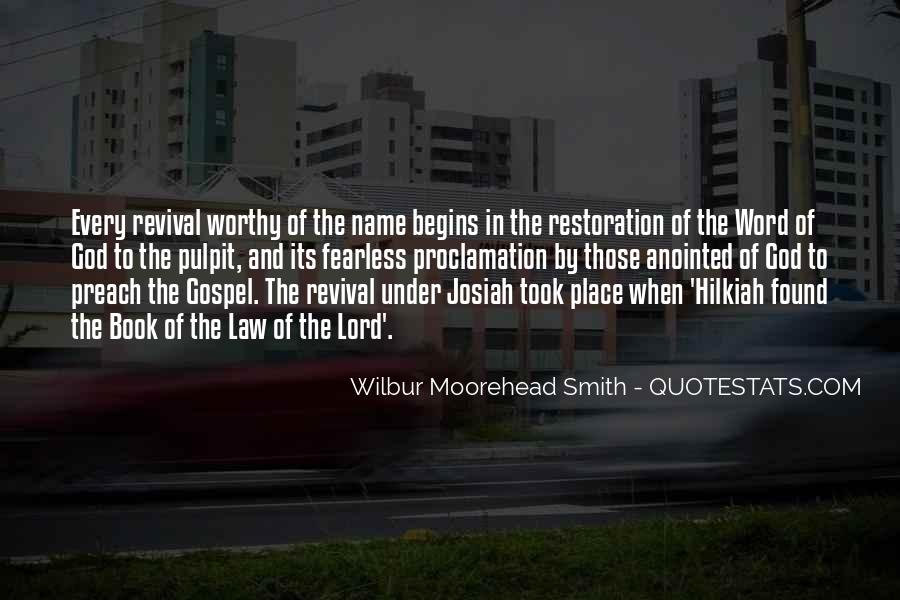Quotes About The Restoration Of The Gospel #1831641