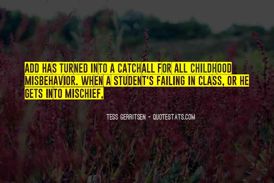 Childhood Mischief Quotes #944869