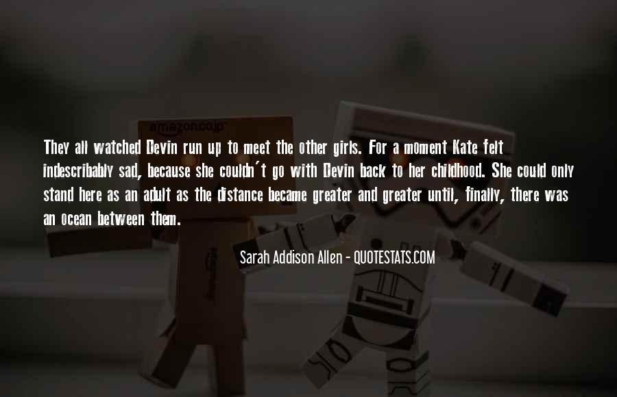 Childhood Sad Quotes #1322918
