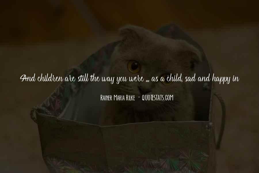 Childhood Sad Quotes #240010