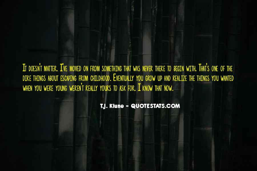 Childhood Sad Quotes #296129