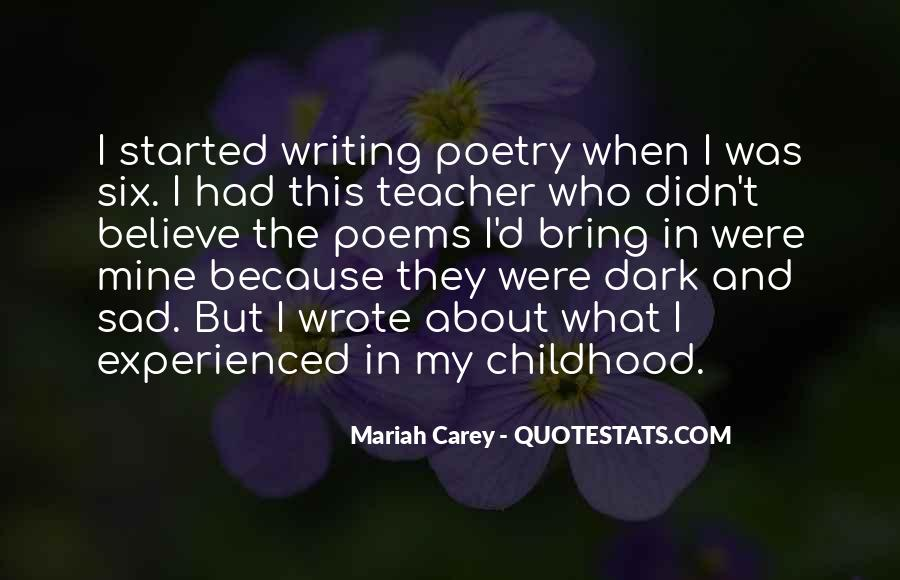 Childhood Sad Quotes #379742