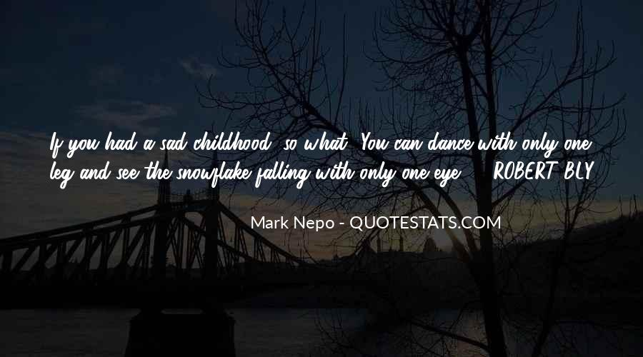 Childhood Sad Quotes #81056