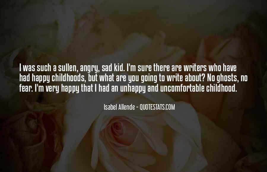 Childhood Sad Quotes #837592