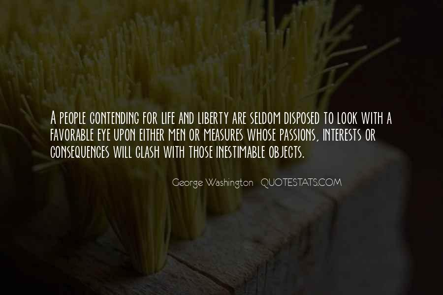 Quotes About Life From George Washington #1078328