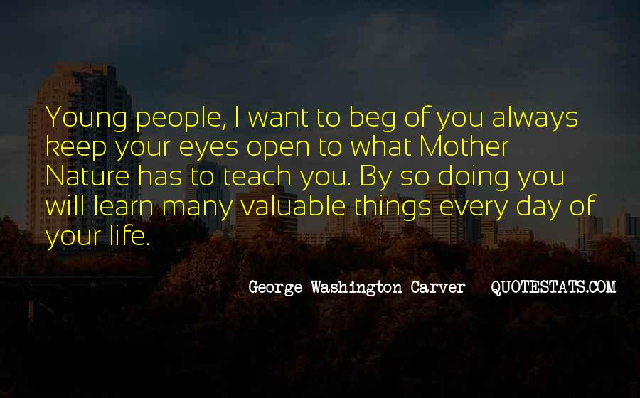 Quotes About Life From George Washington #12435