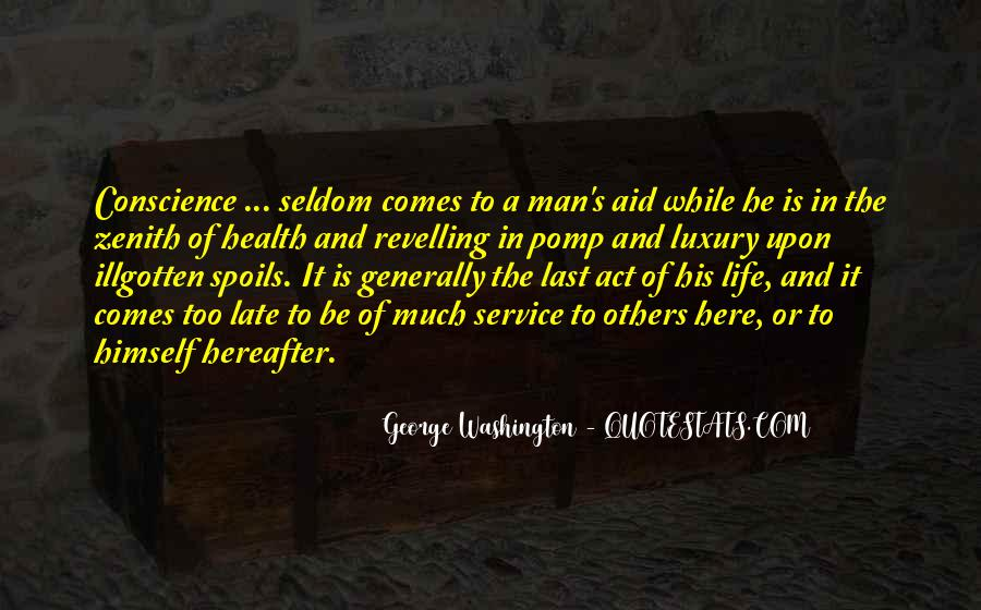 Quotes About Life From George Washington #1508769