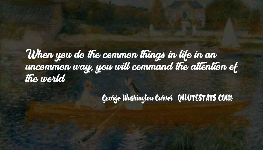 Quotes About Life From George Washington #1558106