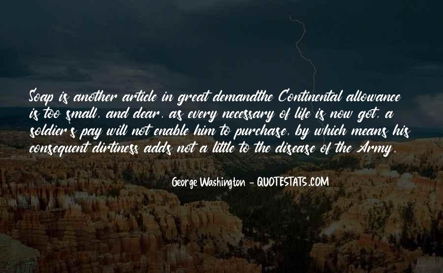 Quotes About Life From George Washington #52196