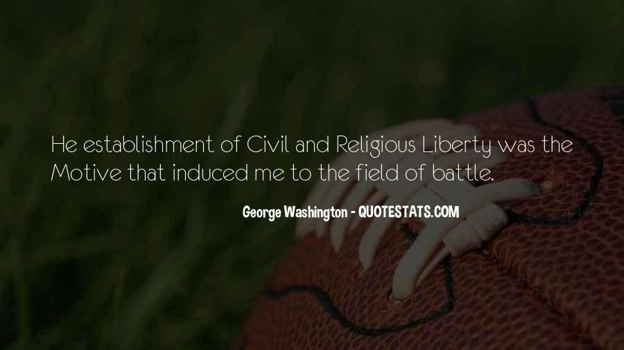 Quotes About Life From George Washington #706606