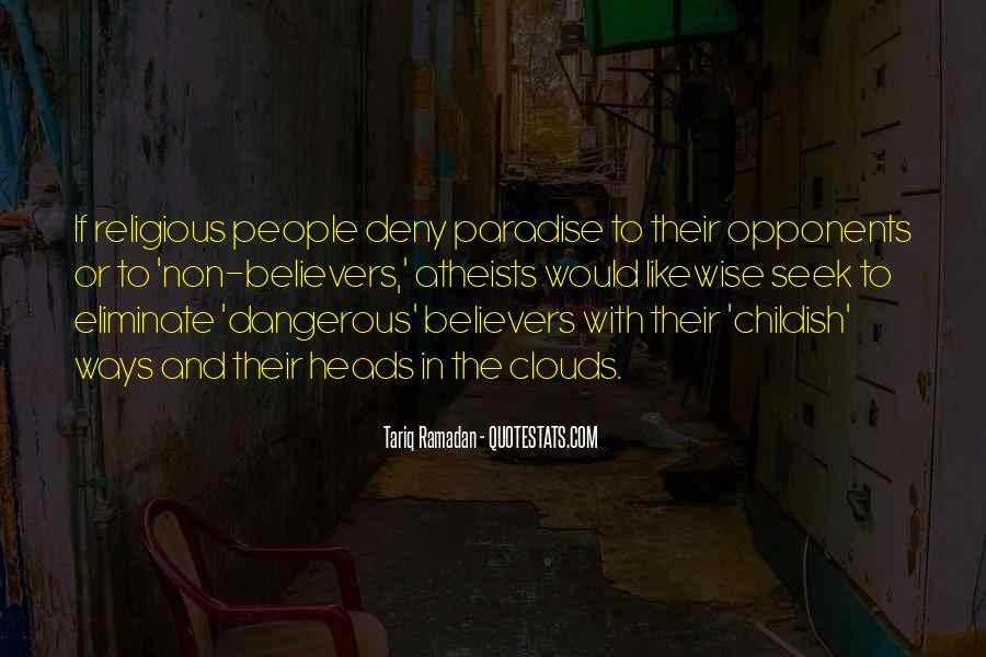 Childish Ways Quotes #1237654