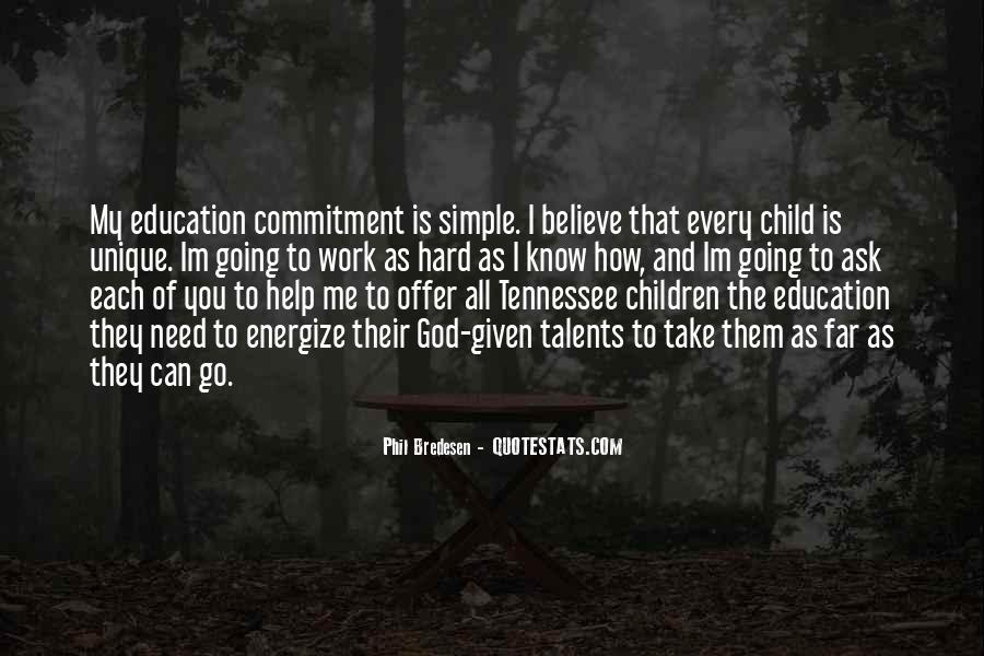 Children's Talents Quotes #1544975